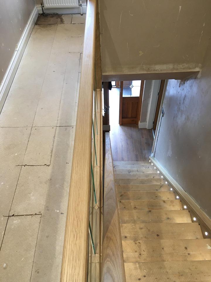 Staircase Renovation Accrington