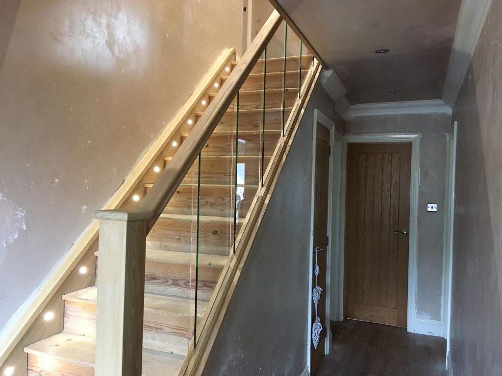 new staircase in Accrington