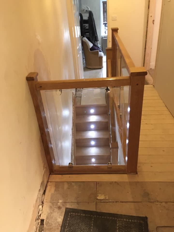 Staircase installation in Kirkham