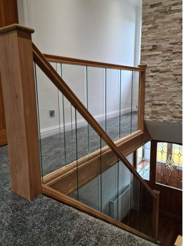 Glass Staircase Accrington