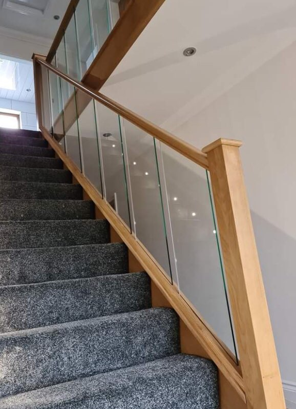 Staircase refurbishment Accrington