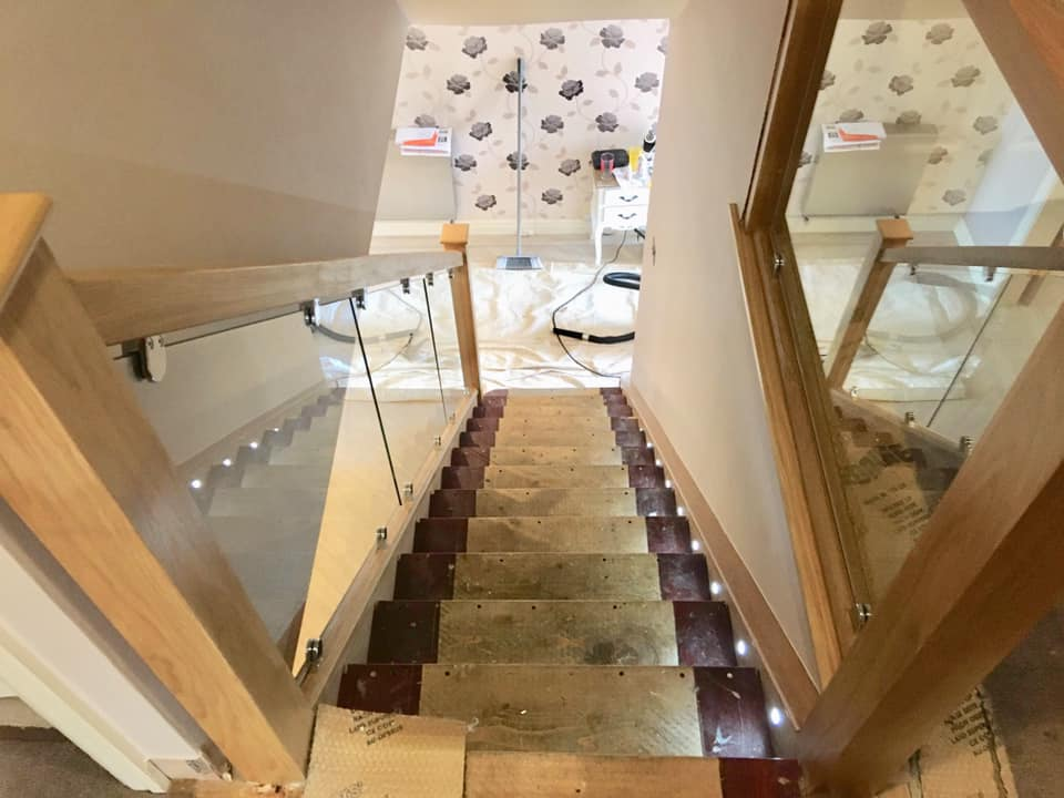 New Staircase in Lancashire