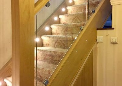 Staircase installation in Preston